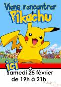 Viens t'amuser avec Pikachu !