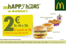 Happy Hours McDo™Alsace