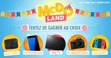 Le nouveau jeu McDo™LAND est en ligne !