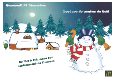 LECTURE DE CONTES DE NOEL
