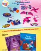 6 jouets Nerf et Nerf Rebelle