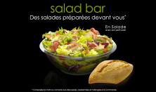 Venez découvrir nos salades