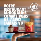 Votre restaurant vous sert à table
