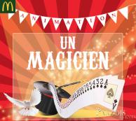 Un magicien dans ton McDo™ le 23/09!
