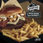Le Burger Gourmet signé McDonald's
