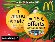 It is a Wonderful Noël chez McDonald's™