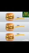 Trois fois plus de Cheeseburger