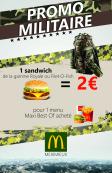 Menu Militaire ou Etudiant