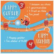 Happy Goûter et Happy Atelier