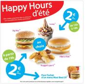 Profitez des Happy Hours
