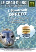 1 Sandwich* OFFERT !
