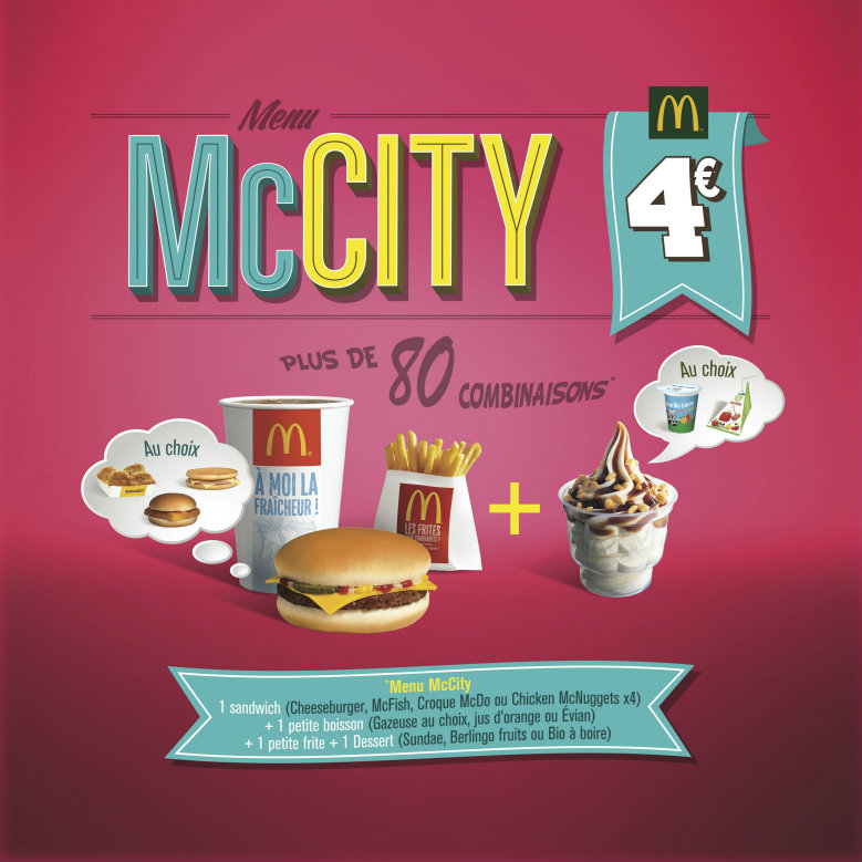Menu McCity