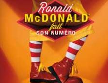 Ronald arrive !