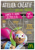 Samedi 15 avril, Atelier de Pâques