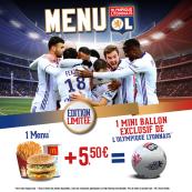 Offre menu OL