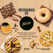 Nouvelles pâtisseries by McCafé™