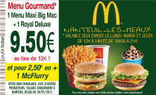 Menu Gourmand