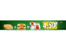 Menu McDay à 4.50 €