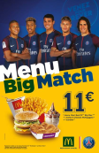 MENU BIG MATCH