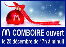 ouvert le 25 décembre 16