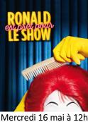 Ronald, de retour dans ton Restaurant !