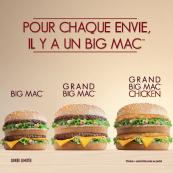 Les Grands Big Mac™ sont de retour !