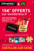 C'est déjà Noël chez McDonald's™
