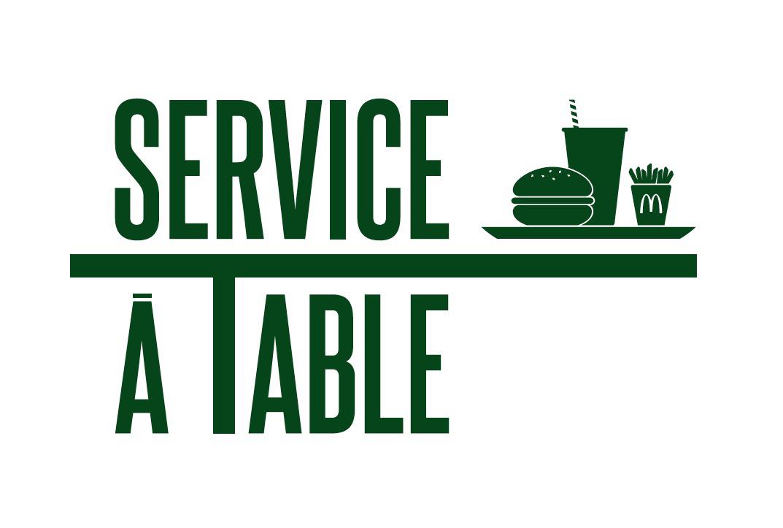 NOUVEAU LE SERVICE A TABLE