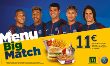 Le menu Big Match