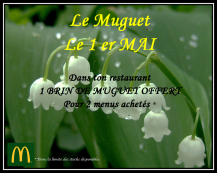 Le muguet du 1er Mai 2017