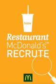 Votre restaurant McDonald's™recrute