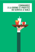 SERVICE A TABLE !