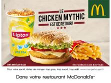 Le Chicken Mythic est de retour