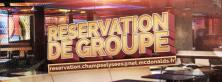 Réservation Groupes