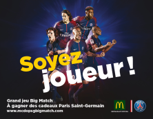 Grand jeu Big Match PSG