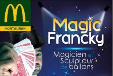 Show de magie!