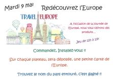 Animation autour de l'Europe