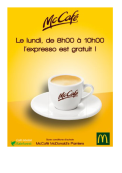 OFFRE EXCLUSIVE - MCCAFE