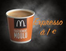 Expresso à 1€