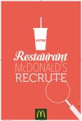 Votre McDonald's™Recrute