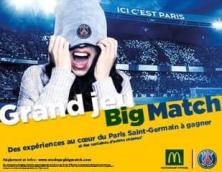 GRAND JEU BIG MATCH/PARIS SAINT-GERMAIN