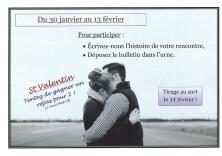 """Concours spécial """"St Valentin"""""""