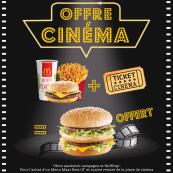 Offre cinéma