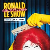 Ronald est prêt pour le Show