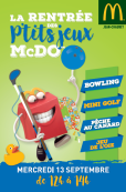 La Rentrée des P'tits jeux McDo™!