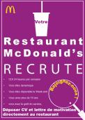 Votre restaurant McDonald's™recrute !