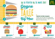 GAGNE TA TAILLE EN BIG MAC !!!
