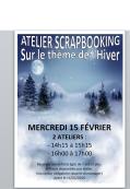ATELIER SCAPBOOKING - MERCREDI 15/02/17