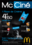Menu Mc Ciné