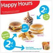 HAPPY HOURS A 2€